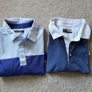 2 Callaway Men's Golf Shirts NWOT XL